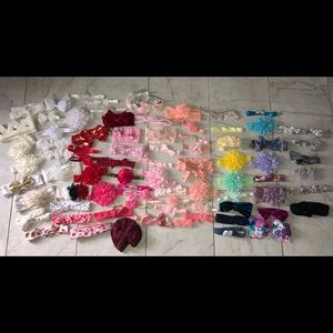 Other - 50+ Assorted Hair Piece BUNDLE